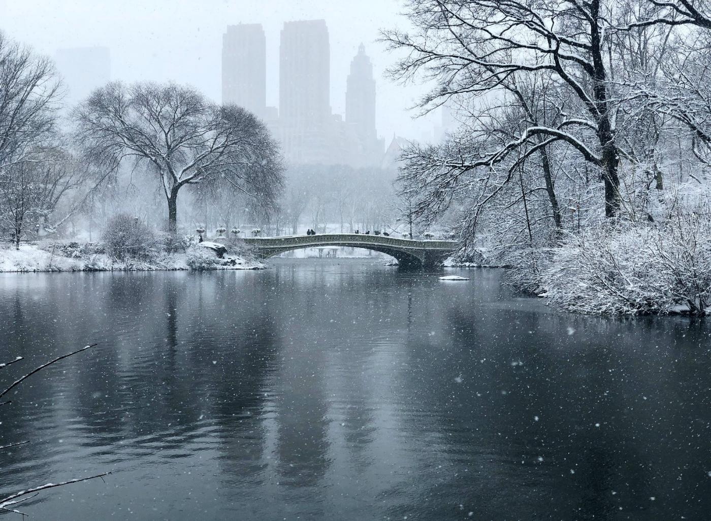 【田螺手机摄影】在纽约市拍雪景、还是中央公园最漂亮_图1-7