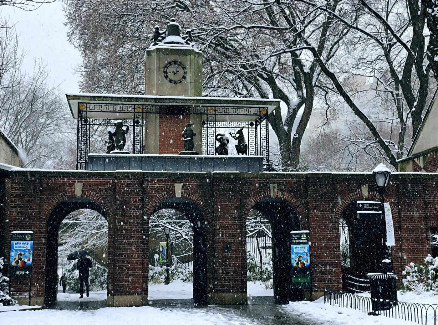【田螺手机摄影】在纽约市拍雪景、还是中央公园最漂亮_图1-12