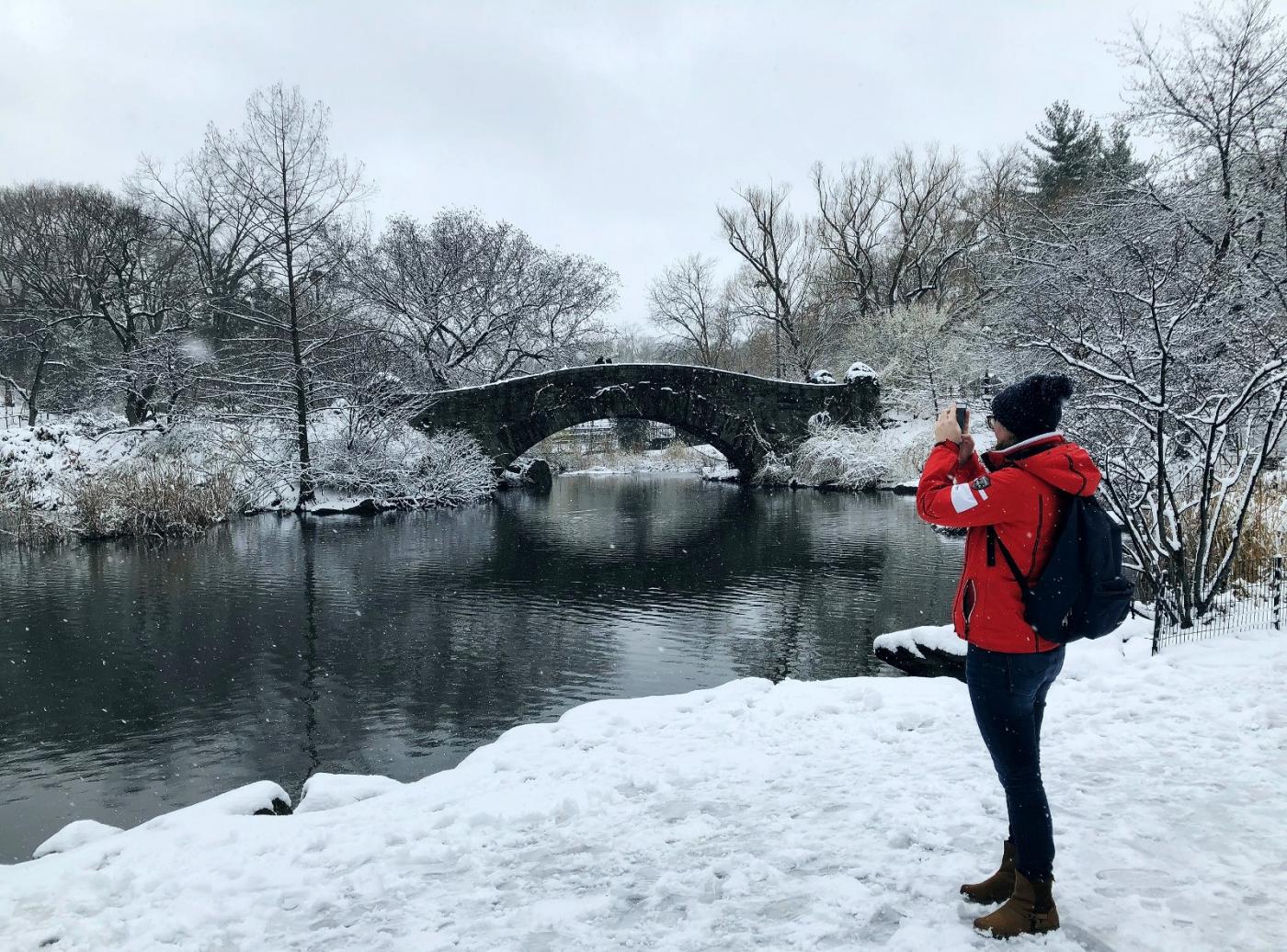 【田螺手机摄影】在纽约市拍雪景、还是中央公园最漂亮_图1-15
