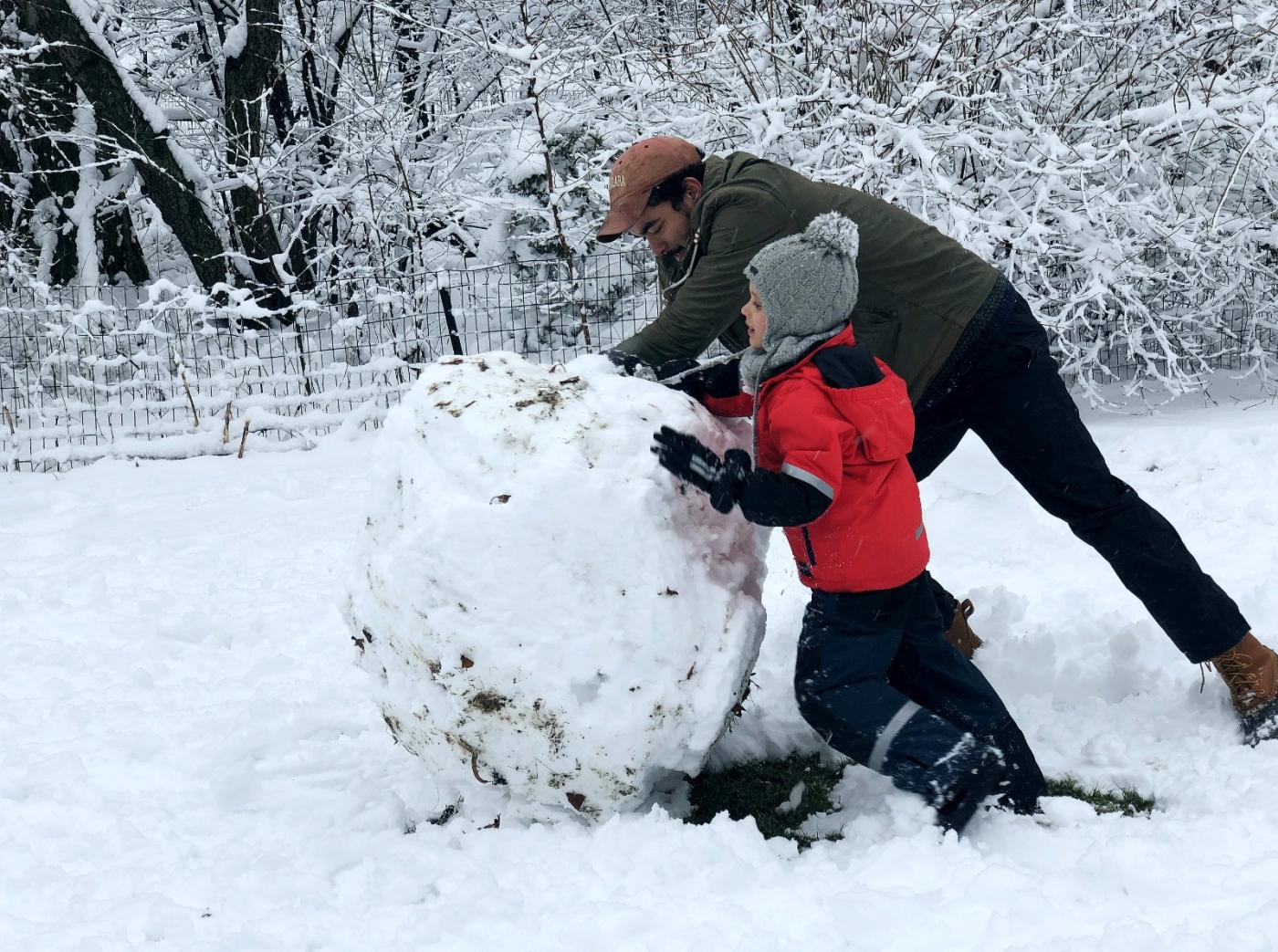 【田螺手机摄影】在纽约市拍雪景、还是中央公园最漂亮_图1-18