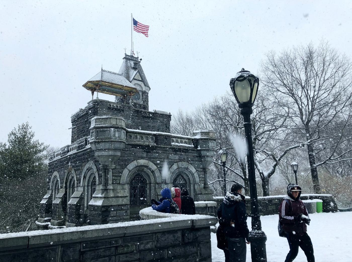 【田螺手机摄影】在纽约市拍雪景、还是中央公园最漂亮_图1-20