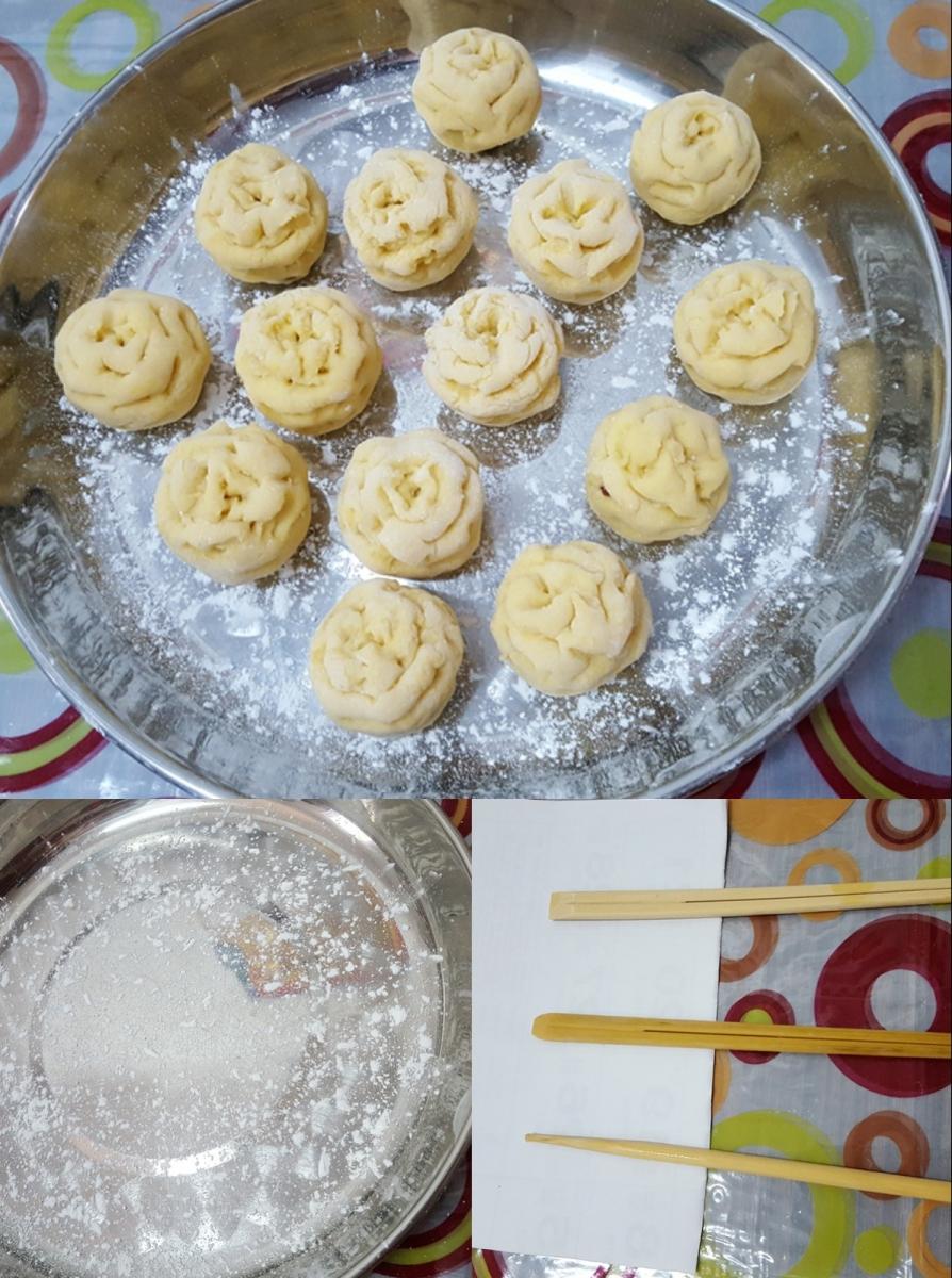 [田螺随拍]分享我做的-甜姜精美下午茶点心_图1-6