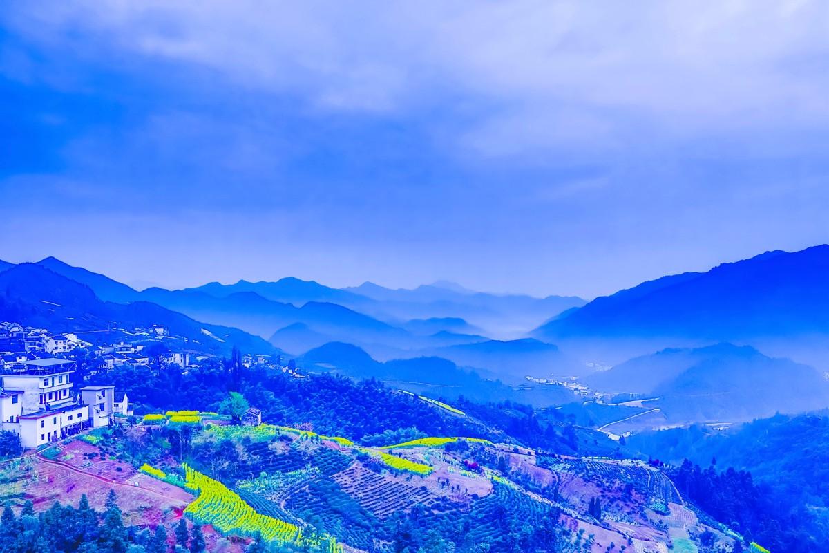 【杆言杆摄】风从徽州来  坡山村 白云深处隐藏的人家_图1-7