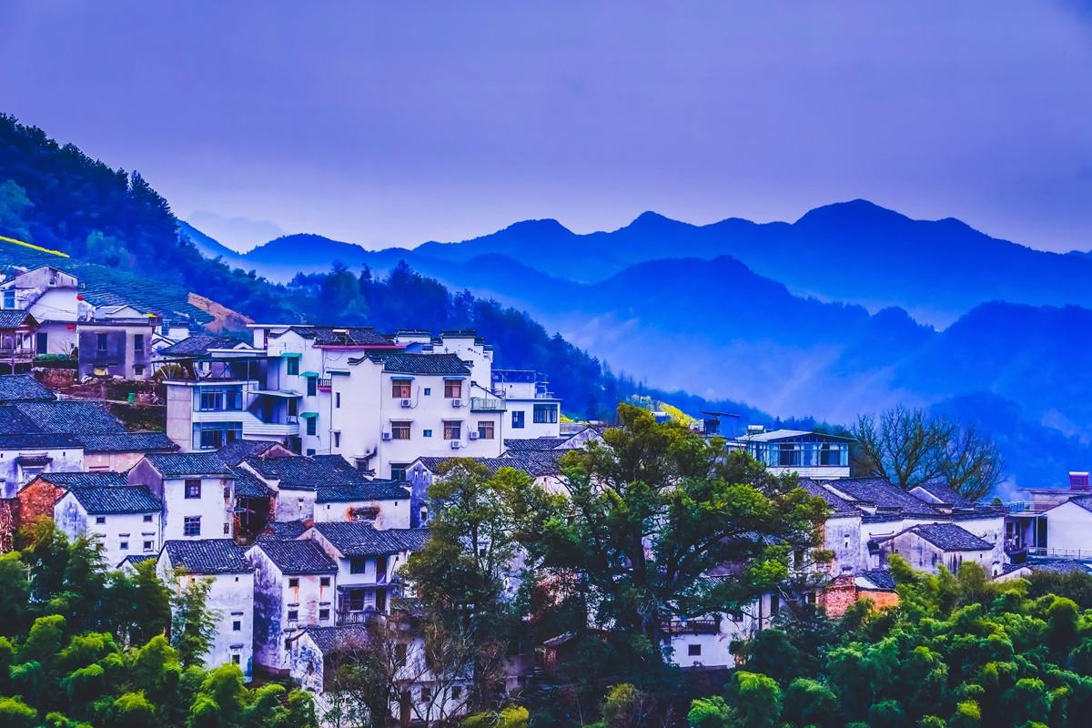 【杆言杆摄】风从徽州来  坡山村 白云深处隐藏的人家_图1-16