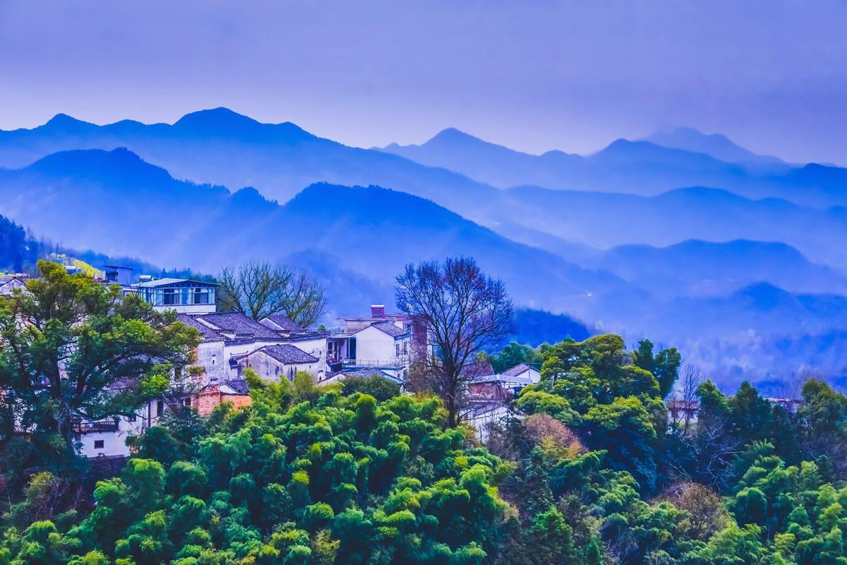 【杆言杆摄】风从徽州来  坡山村 白云深处隐藏的人家_图1-17