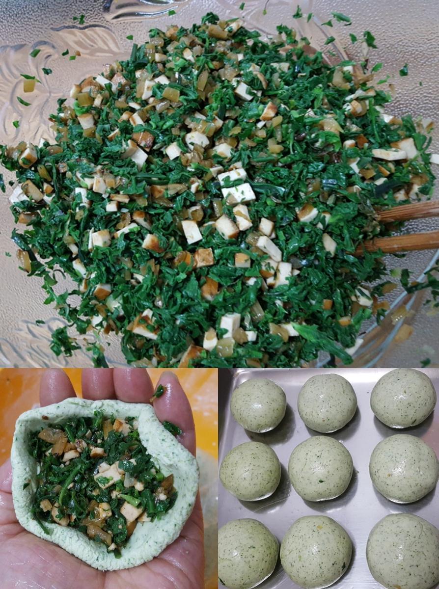 [田螺随拍]分享我做的-野菜青团_图1-9
