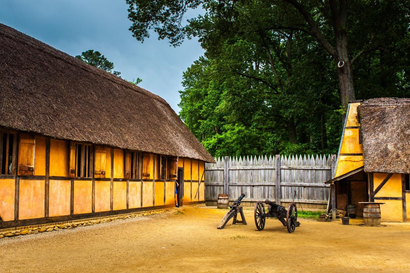 詹姆斯敦殖民地公园,讲17世纪的故事_图1-2