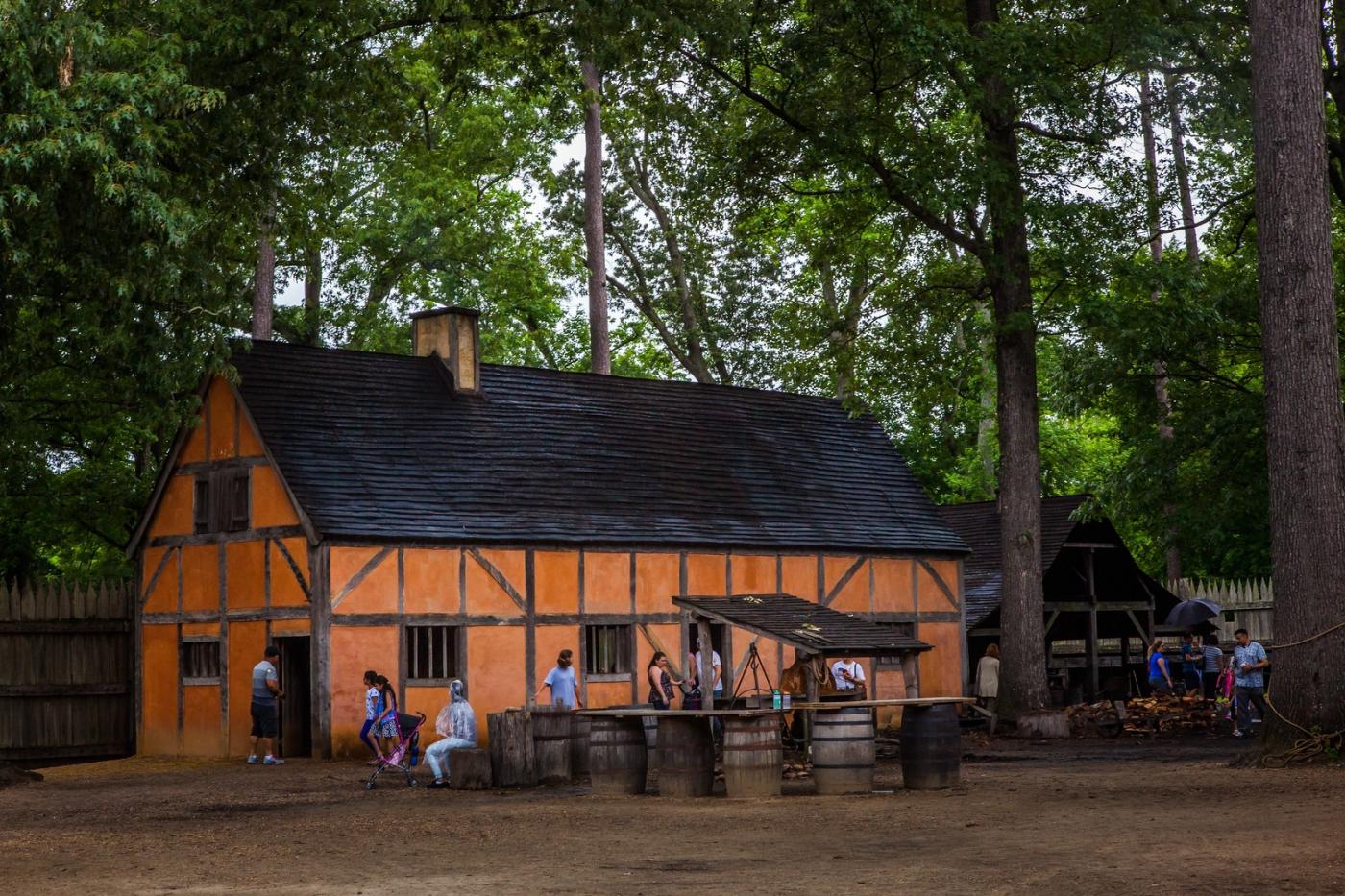 詹姆斯敦殖民地公园,讲17世纪的故事_图1-7