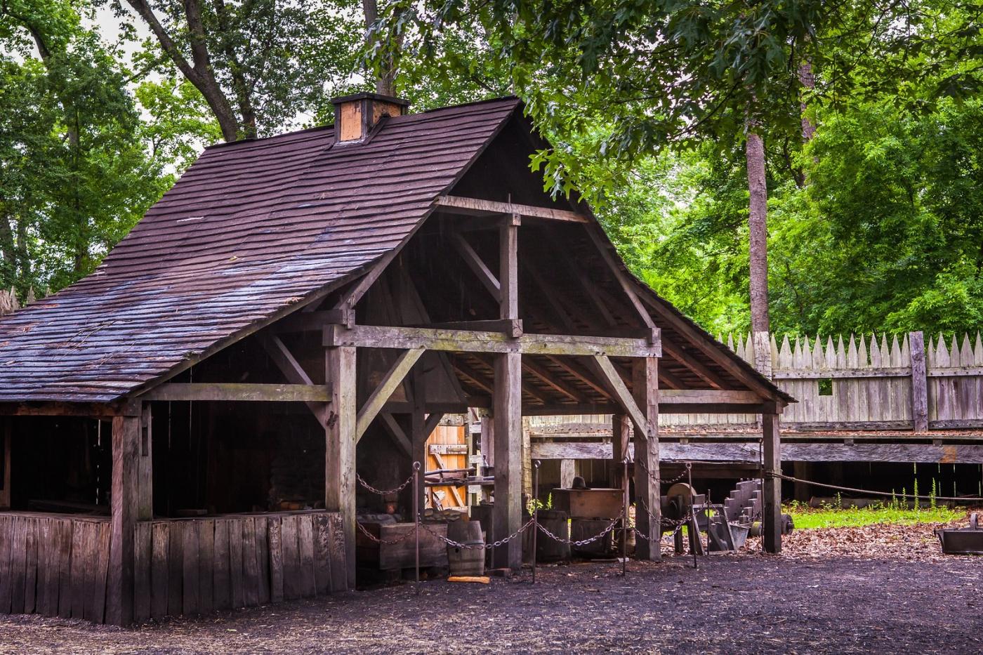 詹姆斯敦殖民地公园,讲17世纪的故事_图1-10
