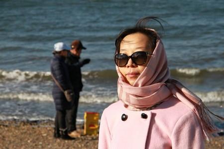 高娓娓:纽约海边公园捡生蚝做海鲜大餐_图1-14