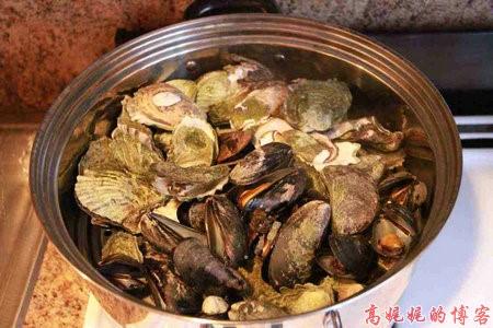高娓娓:纽约海边公园捡生蚝做海鲜大餐_图1-19