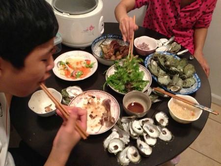高娓娓:纽约海边公园捡生蚝做海鲜大餐_图1-22