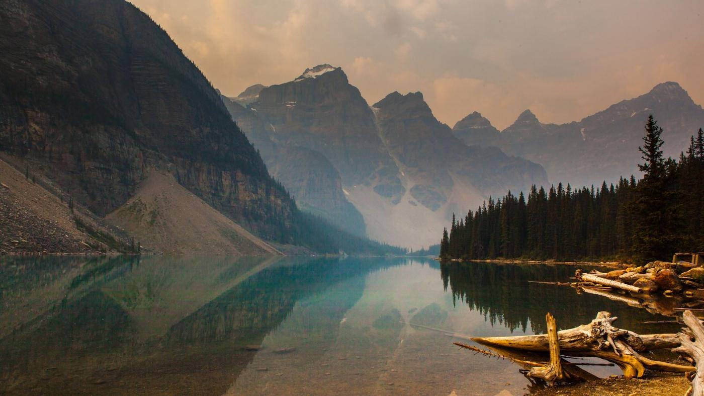 加拿大梦莲湖,梦幻的倒影_图1-8