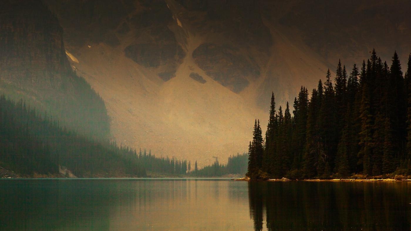 加拿大梦莲湖,梦幻的倒影_图1-10