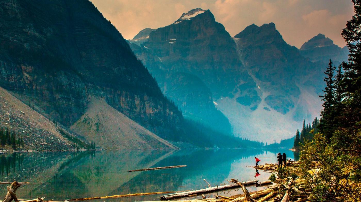 加拿大梦莲湖,梦幻的倒影_图1-6
