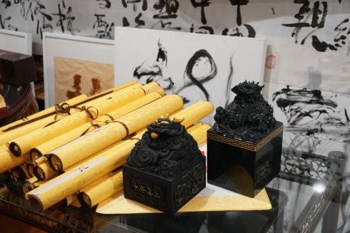 高娓娓:世界中华文化艺术基金会在纽约举办兰亭书画笔友交流会 ... ... ..._图1-10