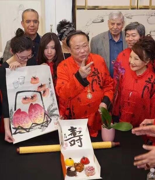 高娓娓:世界中华文化艺术基金会在纽约举办兰亭书画笔友交流会 ... ... ..._图1-15