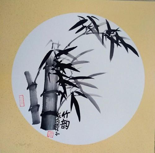 实力派画家张炳瑞香作品《竹韵·》欣赏_图1-1
