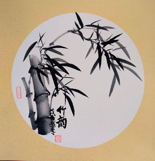 实力派画家张炳瑞香作品《竹韵》欣赏_图1-1
