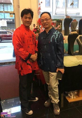 高娓娓:世界中华文化艺术基金会在纽约举办兰亭书画笔友交流会 ... ... ..._图1-19