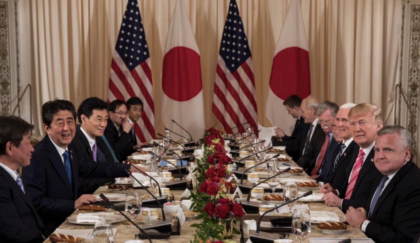 贸易:特朗普和安倍会谈的焦点问题_图1-3