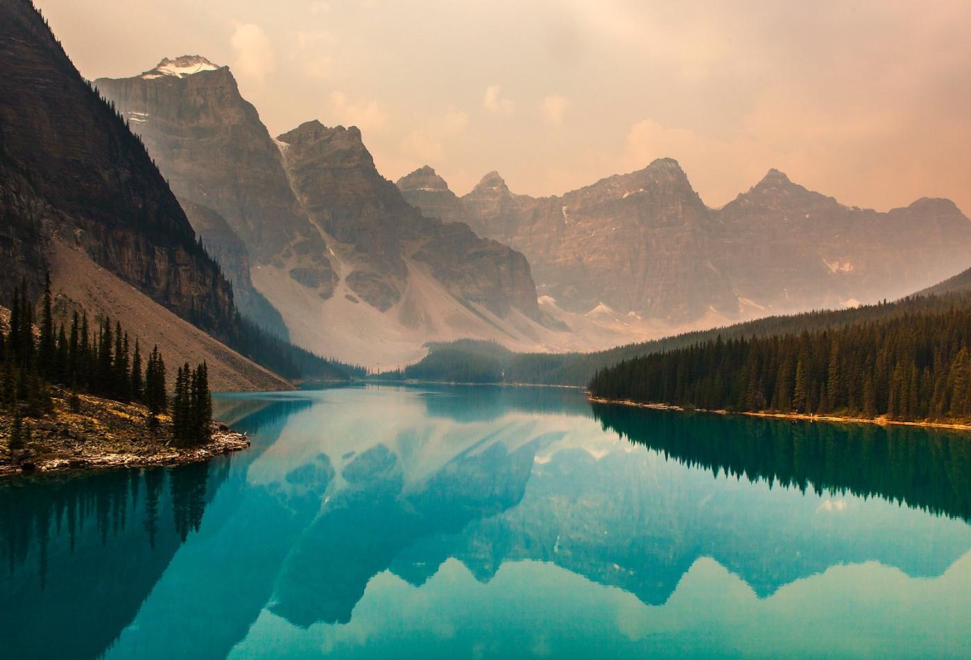 加拿大夢蓮湖,美的令人窒息_圖1-9