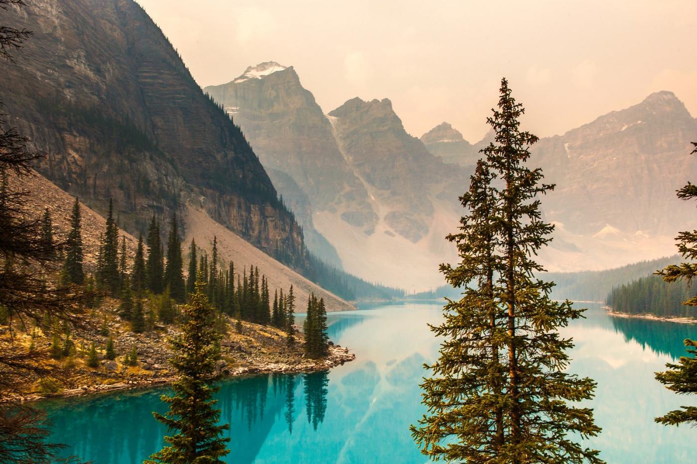 加拿大夢蓮湖,美的令人窒息_圖1-8