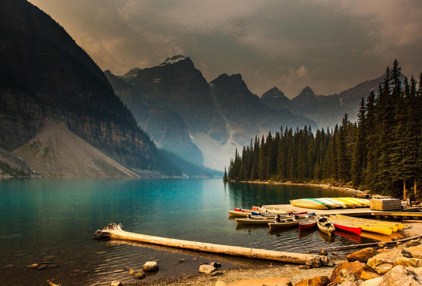 加拿大夢蓮湖,美的令人窒息_圖1-5