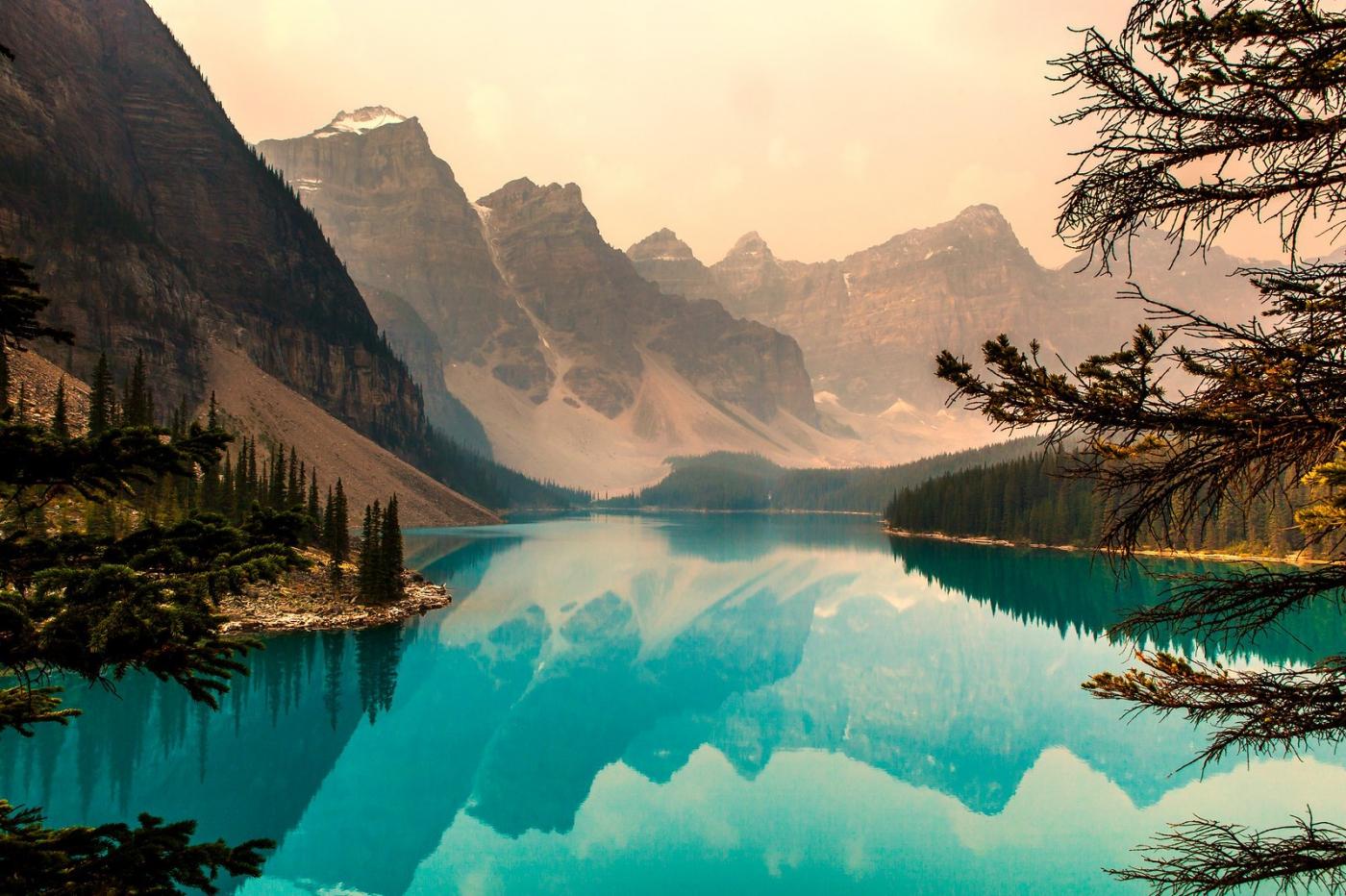 加拿大夢蓮湖,美的令人窒息_圖1-4