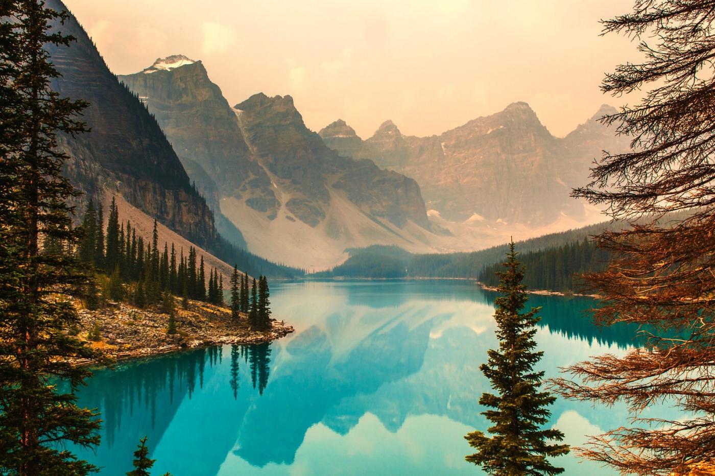 加拿大夢蓮湖,美的令人窒息_圖1-1