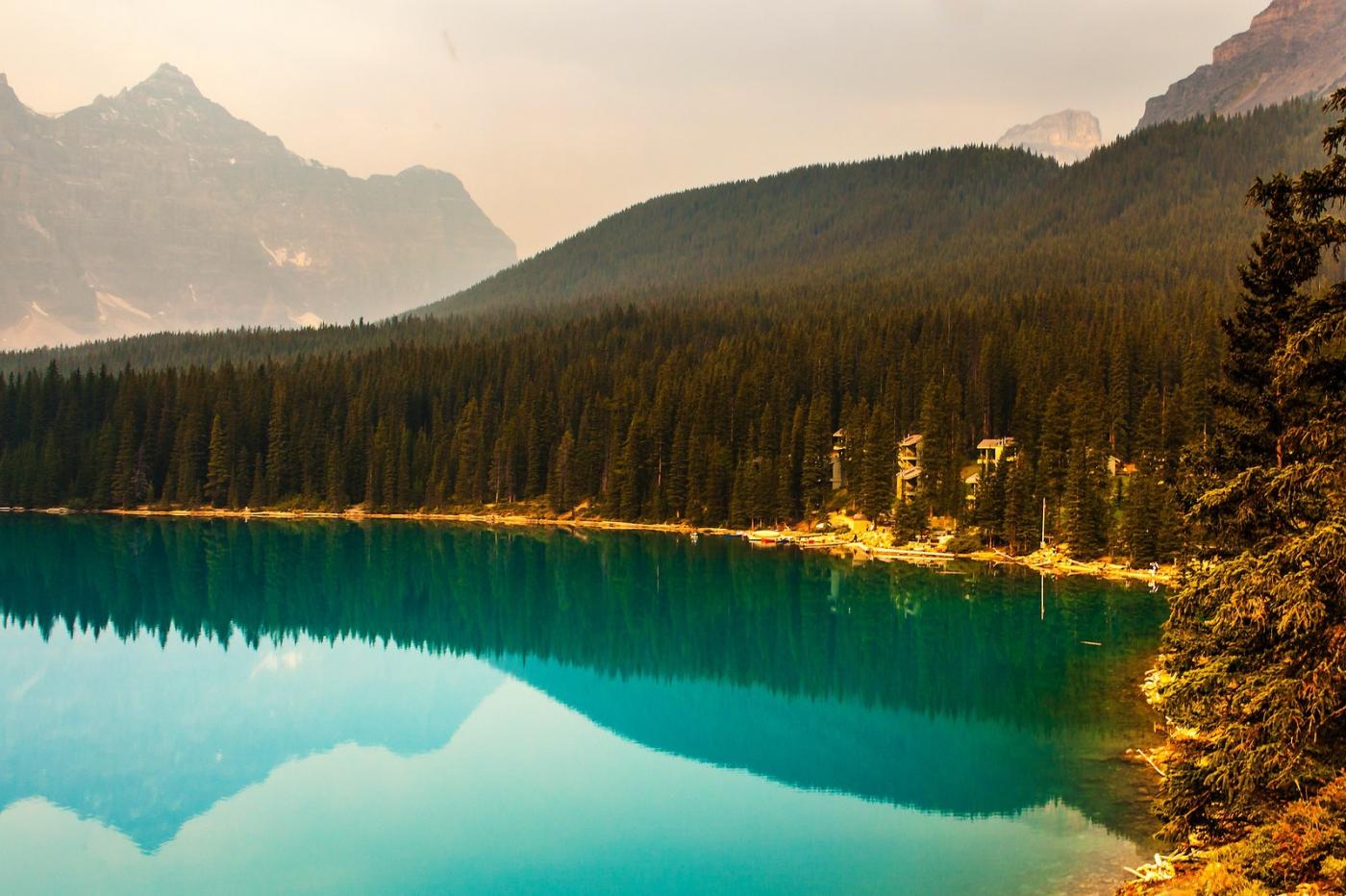 加拿大夢蓮湖,美的令人窒息_圖1-2