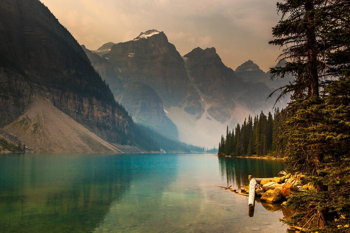 加拿大夢蓮湖,美的令人窒息_圖1-3