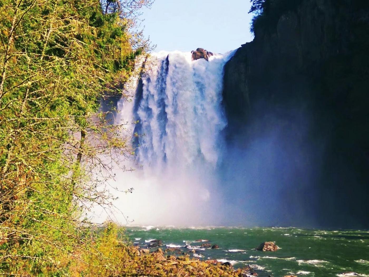 再访斯诺夸尔米瀑布(图)_图1-23