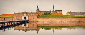 丹麦腓特烈堡城堡,先看气势