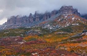 秋冬圣胡安山