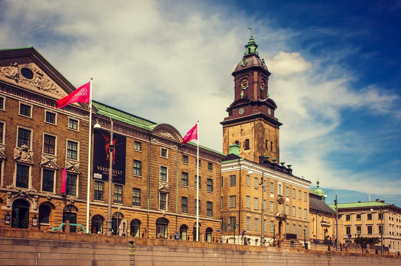 瑞典哥德堡,這幢大廈很特殊_圖1-2
