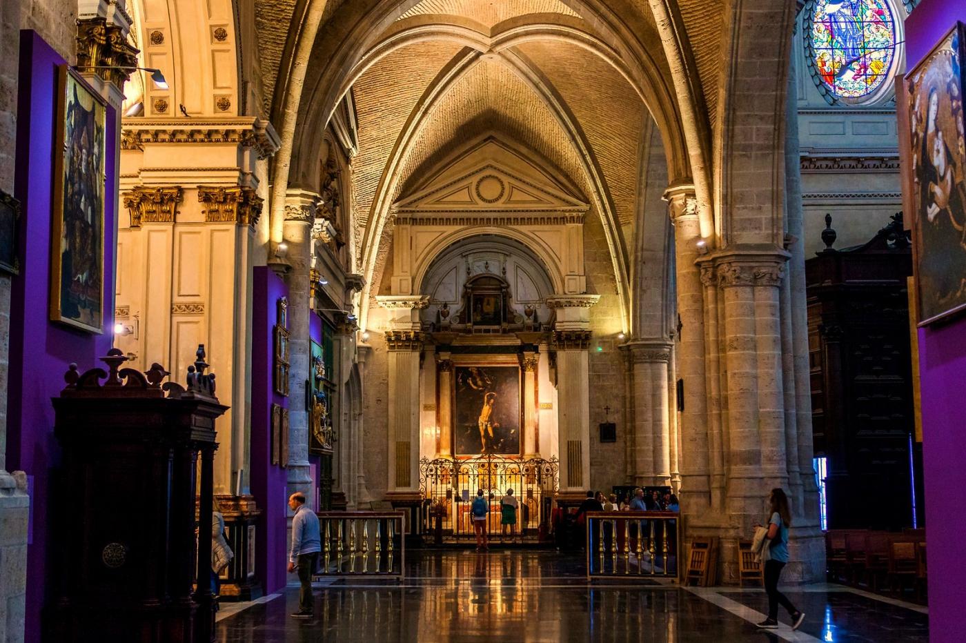 西班牙巴倫西亞主教堂,越看越喜歡_圖1-2