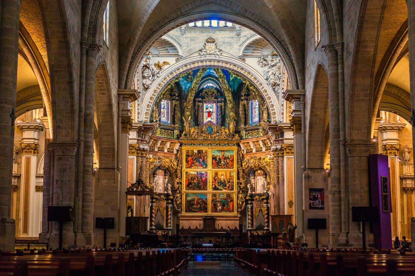 西班牙巴倫西亞主教堂,越看越喜歡_圖1-3