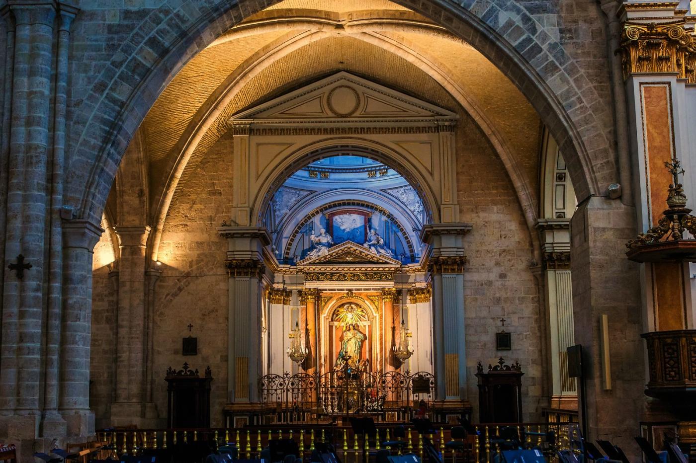 西班牙巴倫西亞主教堂,越看越喜歡_圖1-5