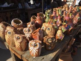 圣迭哥老城墨西哥陶瓷艺术品
