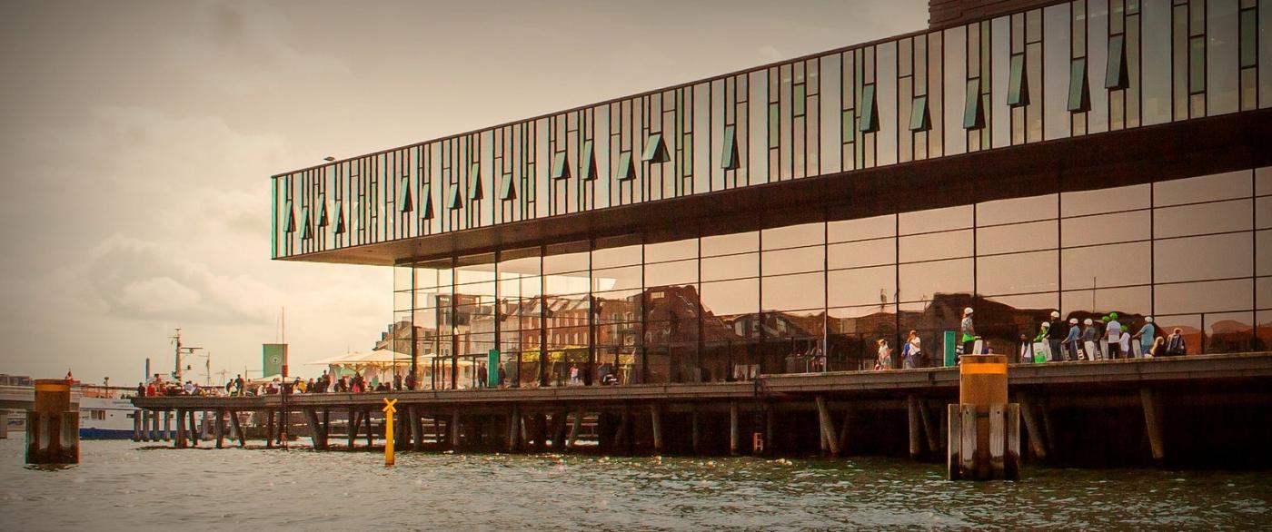 丹麦哥本哈根,岸边的景_图1-10