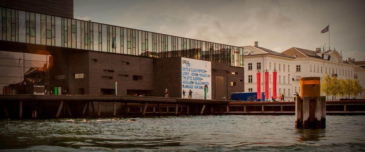 丹麦哥本哈根,岸边的景_图1-12