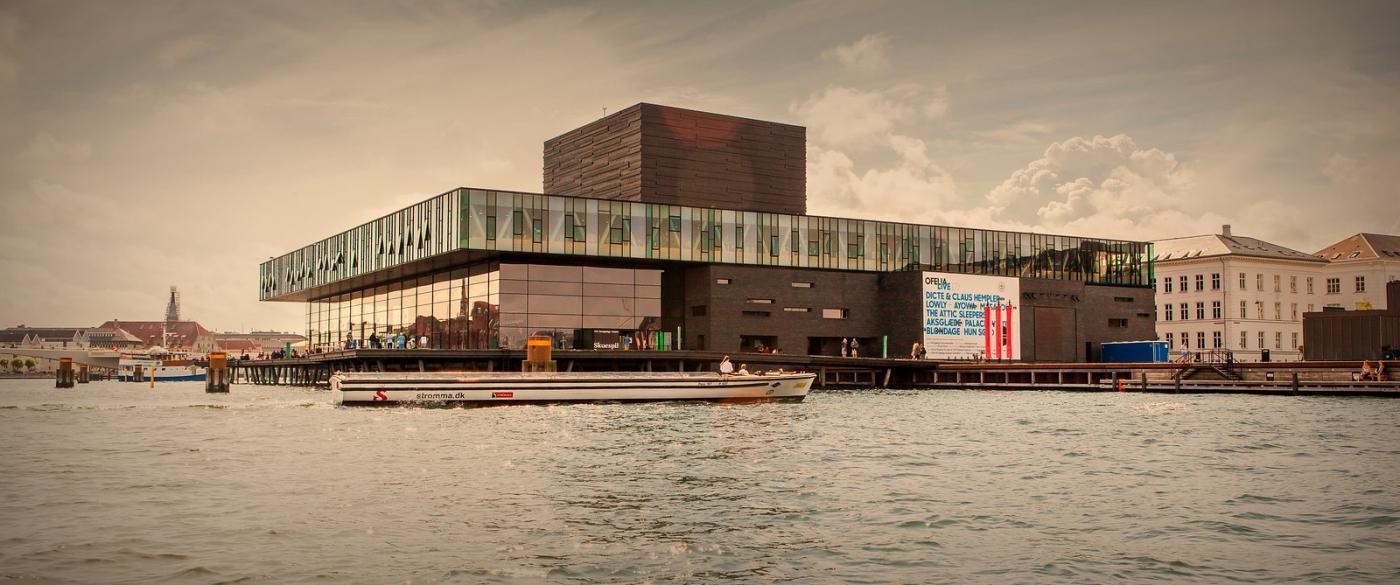 丹麦哥本哈根,岸边的景_图1-13