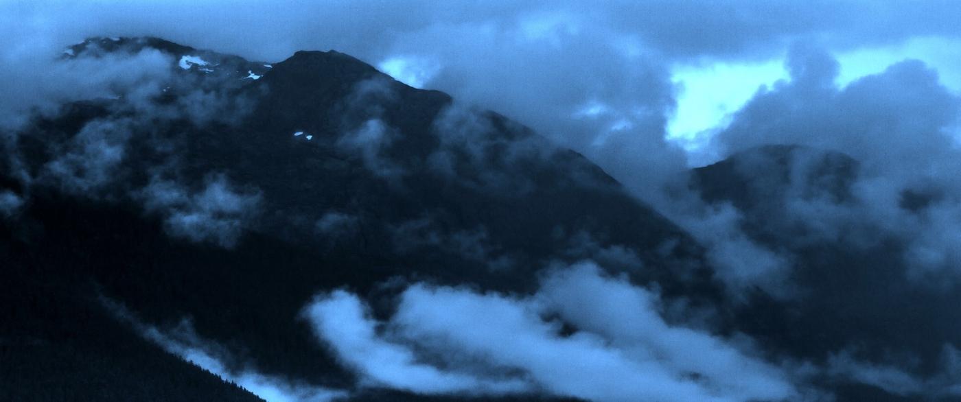 阿拉斯加,山峰若隐若现_图1-10