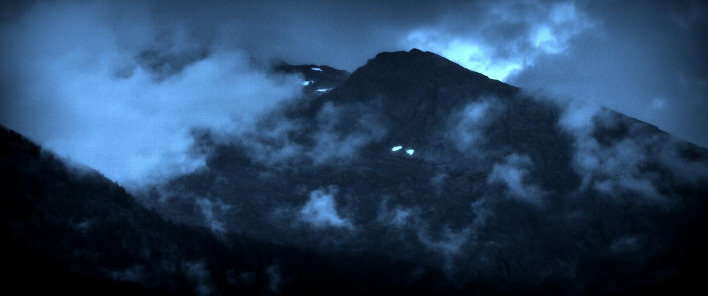 阿拉斯加,山峰若隐若现_图1-9