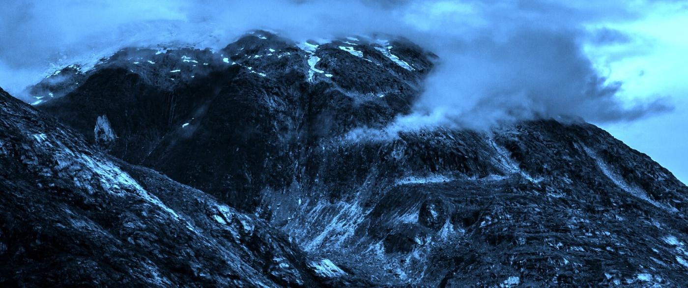 阿拉斯加,山峰若隐若现_图1-6