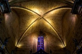西班牙巴伦西亚主教堂,穹顶上
