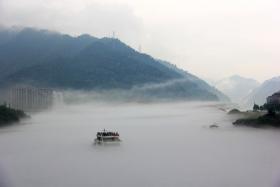 [生态摄影]  建德之白沙奇雾