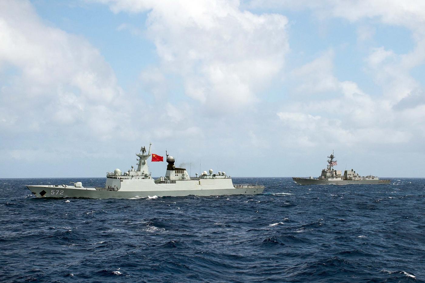 美国拒绝中国参加RIMPAC联合军演_图1-1