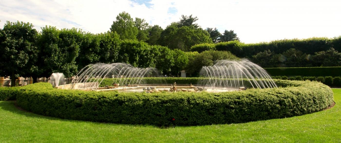 费城长木公园,改建前的中心喷泉花园_图1-10